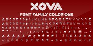 Xova Font1