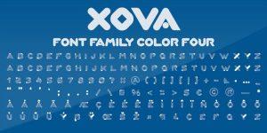 Xova Font4
