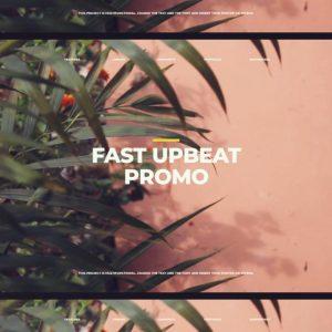 پروژه آماده پریمیر تیزر تبلیغاتی Fast Upbeat Promo