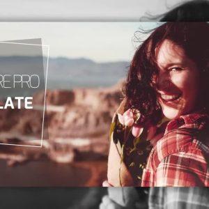 پروژه آماده پریمیر اسلایدشو Minimal Opener Slideshow
