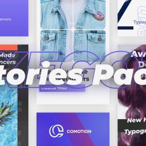 پروژه آماده پریمیر : مجموعه استوری اینستاگرام Stories Pack