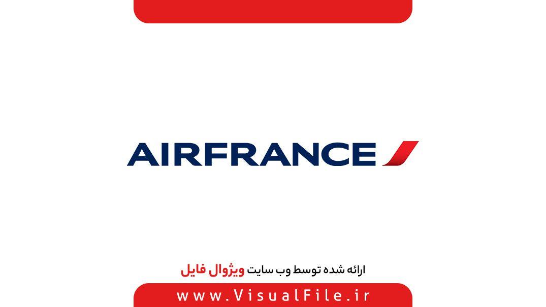 لوگو شرکت هواپیمایی ایر فرانس