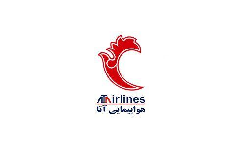 دانلود لوگو (آرم) هواپیمایی آتا Ata Airline 2