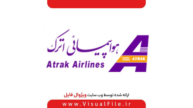 لوگو شرکت هواپیمایی اترک ایر